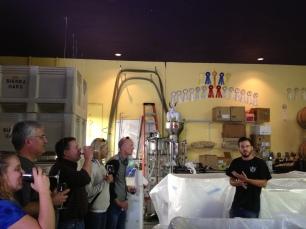 Behind the scenes in Carlsbad.
