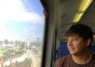 Mi amor on the Winery Train!
