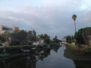 Early morning walk through the Venice, CA canals