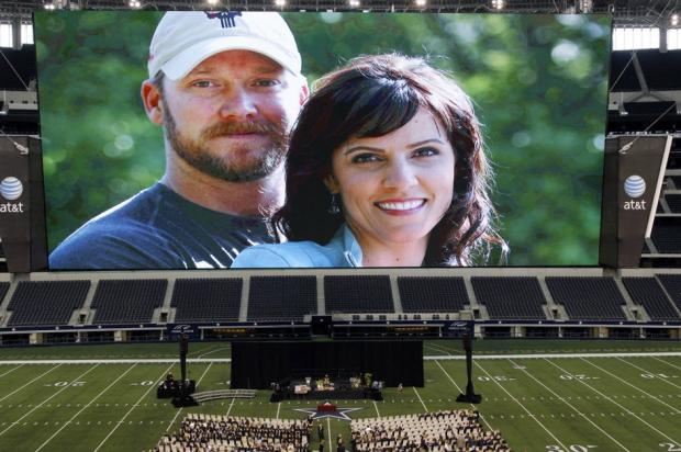 Chris Kyle Memorial Texas Stadium