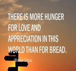 Mother Theresa Love Appreciation
